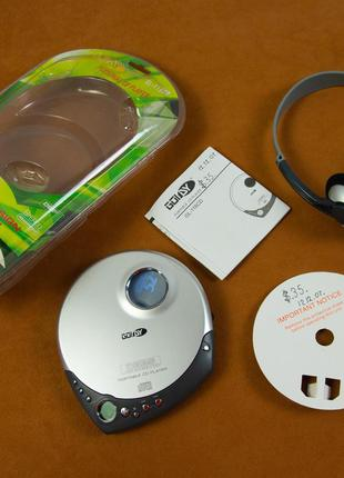 CD плеер GOLDy GL-116 CD (Коробка, наушники)