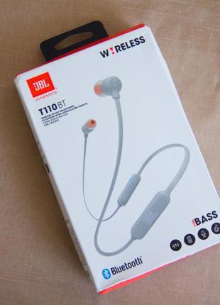Беспроводные Bluetooth наушники JBL T110BT