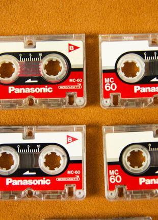 Кассета мини, для диктофона, Panasonic MC60 Olympus
