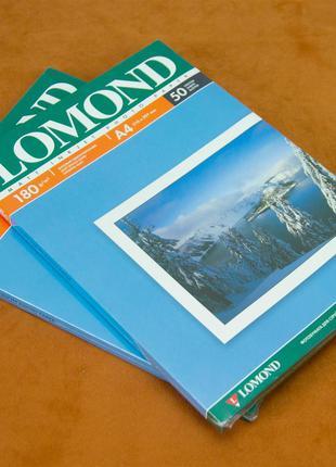 Фотобумага матовая Lomond 180 гр A4 (50 листов)
