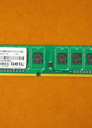 Память Geil GN34GB1600C11S DDR3 1600MHz 4GB