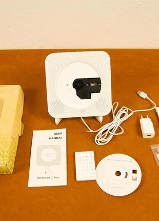 Микросистема Wall Mountable AD-8028 White (CD, Bluetooth, FM, ...