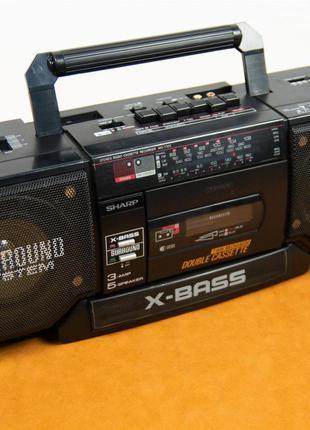 Магнитофон Магнитола Sharp WQ-T352 (РЕДКИЙ)