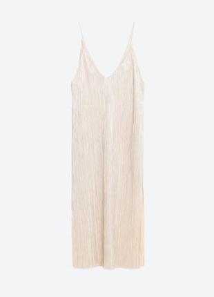 Платье с серебристой нитью от zara, платье на новый год