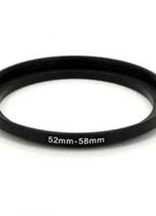 Кольцо повышающее (STEP-UP) 52-58 мм