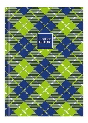 Книга обліку А4, 100 аркушів, лінія, обкладинка твердий картон...