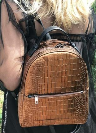 Кожаный рюкзак (италия, натур. кожа)