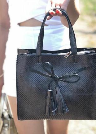 Итальянская кожаная сумка (натур. кожа)