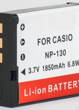 Аккумулятор для фотоаппаратов CASIO - аккумулятор NP-130 (CNP-...