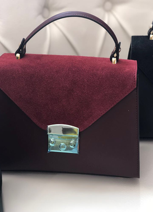 Кожаная сумочка (натур. кожа,италия)