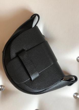 Кожаная сумочка кроссбоди (италия)