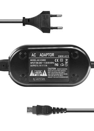 Сетевой адаптер DMW-AC5 для камер Panasonic - питание от сети
