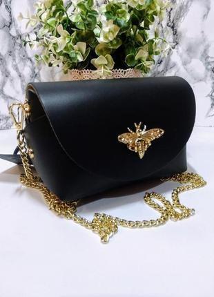 Маленькая сумка италия (натур.кожа)