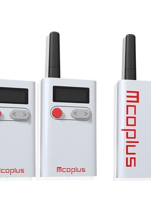Петличный микрофон Mcoplus UHF-WMU48 KIT 2 - радиомикрофон (бе...