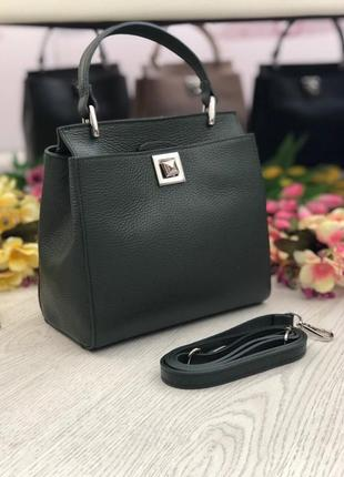 Женская кожаная сумка италия