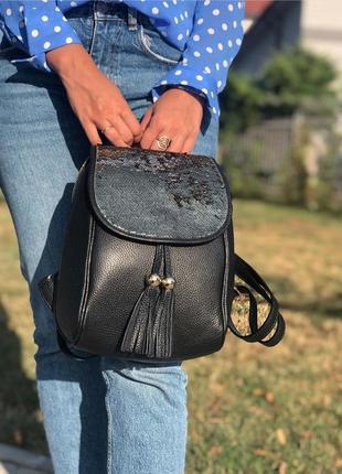 Кожаные рюкзаки италия