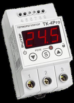 Терморегулятор ТК-4Pro, -50…+125°С 25А, DigiTOP