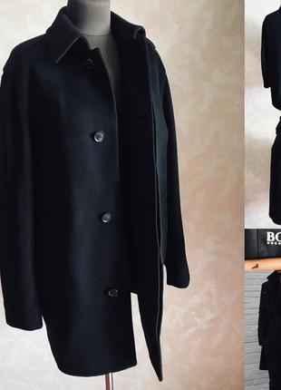 Мужское пальто hugo boss идеал л