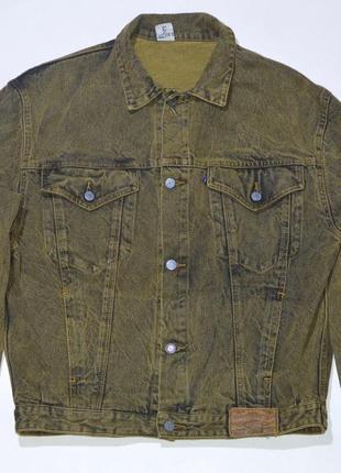 Джинсовая куртка foster international denim jacket casual