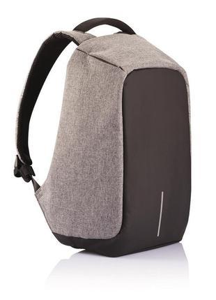 Рюкзак антивор Bobby Anti-theft Backpack USB Grey