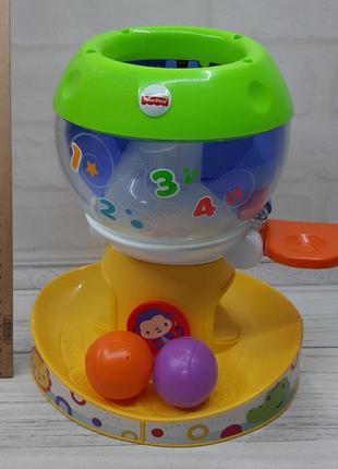 Музыкальная игрушка с шариками fisher-price