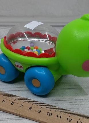 Машинка погремушка от fisher price