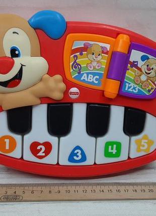 Музыкальное пианино умный щенок fisher-price