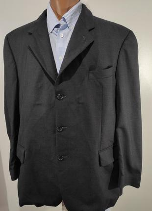 Мужской темно - серый «черный» костюм германия размер 54