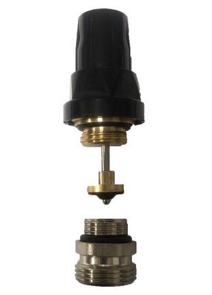 "Кран термостатический SD Forte 1/2""х3/4"" для коллектора SF012"