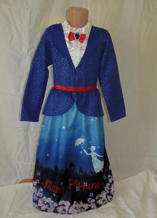 Платье мери поппинс на 9-10 лет
