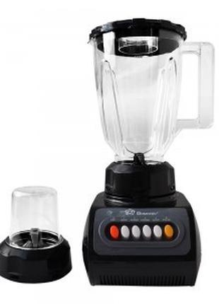 Блендер-измельчитель + кофемолка Domotec Черная (hub_Judp55155)