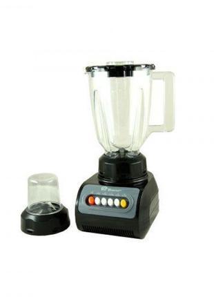 Блендер+ кофемолка + измельчитель Domotec Черная (hub_qAuJ20563)