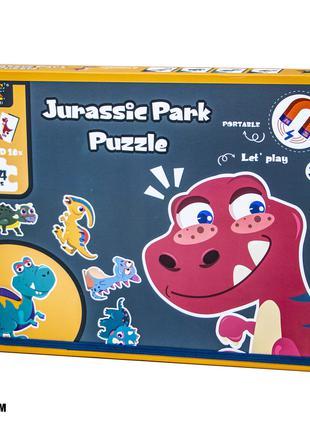 Пазлы магнитные Динозавры 667-3