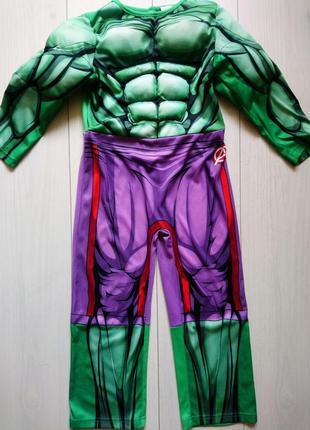 Карнавальний костюм hulk marvel