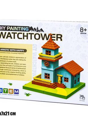 Конструктор раскраска дом 2055