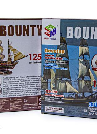 3D Конструктор Корабль Bounty B468-18