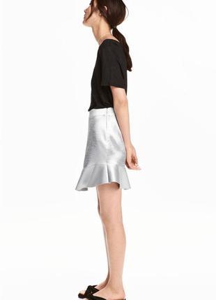 Сатиновая юбка