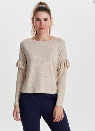Only пуловер джемпер реглан свитер кофта меланж