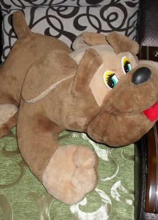 Большая мягкая игрушка Собака 63см. На подарок! Очень ДЕШЕВО !