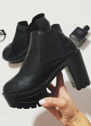 Ботинки женские размер 38 стелька 24 см