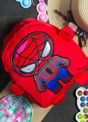 """Детский рюкзак """"spider-man"""" 24*21*8"""