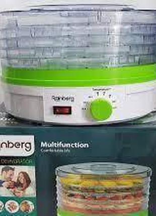 Сушилка электрическая для овощей и фруктов 800W Rainberg RB-912
