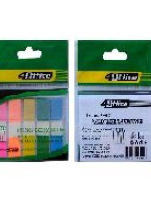 Стикер-закладки 4OFFICE 4-427 пластик. 5 Когда по 20арк. 12 * ...