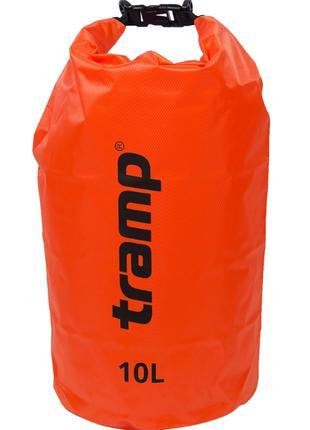 Гермомешок 10л. Tramp-orange. гермомешок. водонепроницаемая уп...