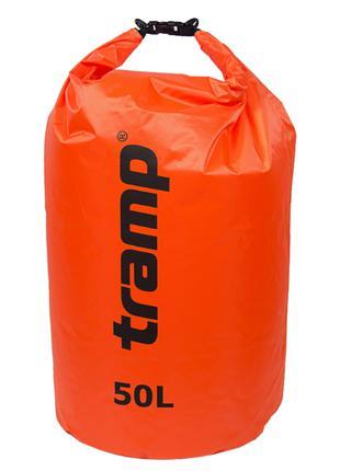 Гермомешок 50л. Tramp-orange. гермомешок. водонепроницаемая уп...