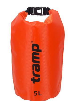 Гермомешок 5л. Tramp-orange. гермомешок. водонепроницаемая упа...