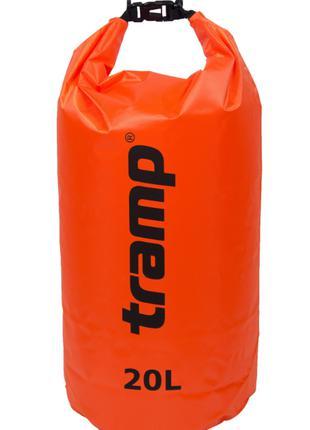 Гермомешок 20л. Tramp-orange. гермомешок. водонепроницаемая уп...