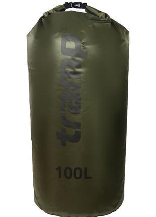 Гермомешок 100л. Tramp-olive. гермомешок. водонепроницаемая уп...