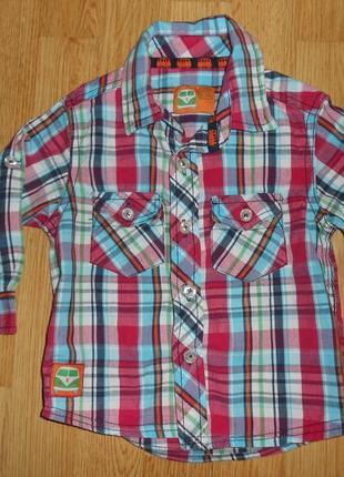 Рубашка на мальчика 1-1,5 года