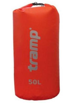Гермомешок Nylon Pvc 50л. красный Tramp TRA-103